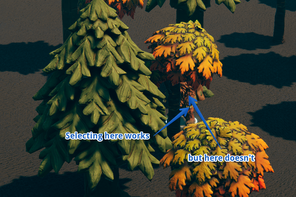 bear/tree issue